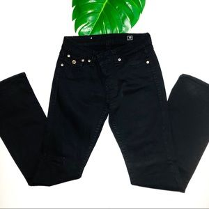 LA idol USA Black Bootcut Jeans